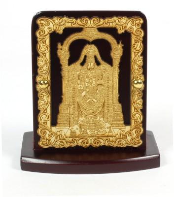 Eknoor Car Dashboard Idol - Tirupati Balaji Showpiece  -  7.5 cm(Wooden, Multicolor)  available at flipkart for Rs.474