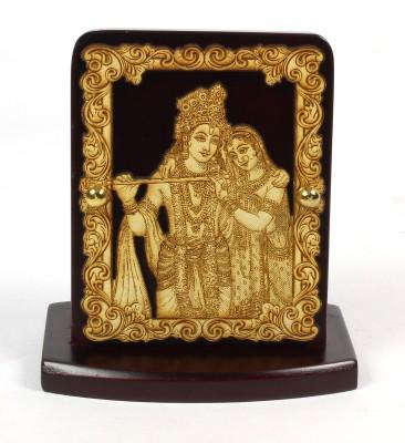 Eknoor Car Dashboard Idol - Krishna Showpiece  -  7.5 cm(Wooden, Multicolor)  available at flipkart for Rs.474