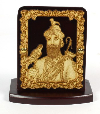 Eknoor Car Dashboard Idol - Guru Govind Singh Showpiece  -  7.5 cm(Wooden, Multicolor)  available at flipkart for Rs.474
