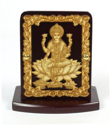 Eknoor Car Dashboard Idol - Lakshmi Ji Showpiece  -  7.5 cm(Wooden, Multicolor)  available at flipkart for Rs.474