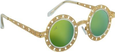 Amaze Round Sunglasses(Green)