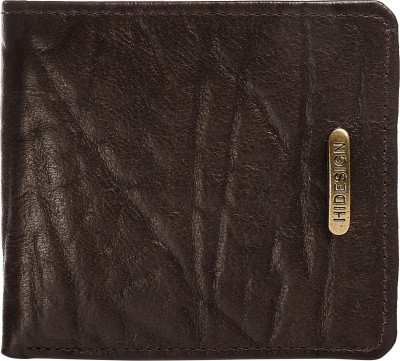 Hidesign Men Brown Genuine Leather Wallet(8 Card Slots)