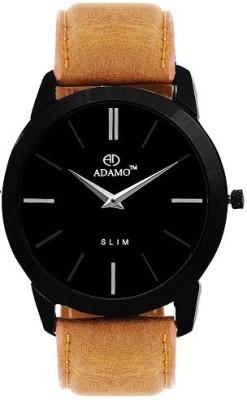 ADAMO AD64BS02 SLIM Analog Watch For Men