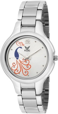 Fogg 4041-WH-CK Modish Analog Watch For Women