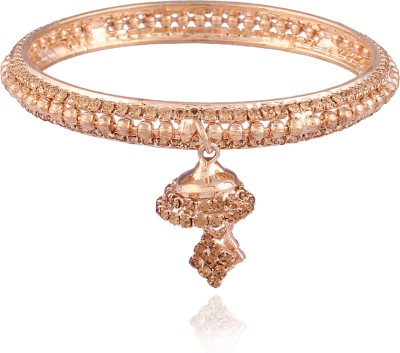 I Jewels Alloy 22K Yellow Gold Bangle(Pack of 2) at flipkart