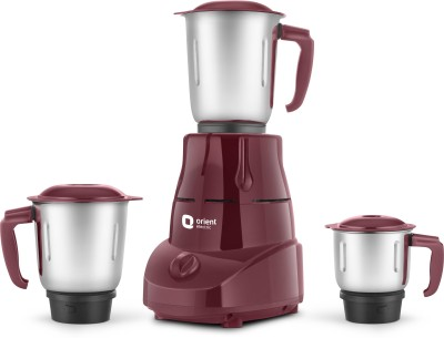 Orient Electric Bolt |MGBT50C3 500 W Mixer Grinder(Cherry, 3 Jars)