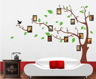 Oren Empower Brown Tree Wall Stickers  Finished size on wall   170 w  x 120 h  cm  90 cm X cm 60, Brown