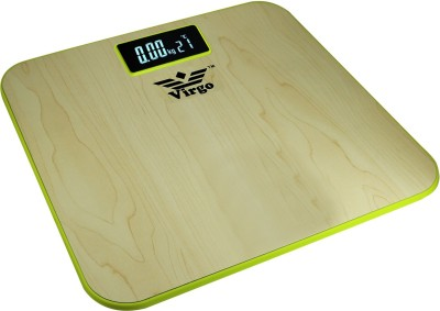Zblack Virgo Bathroom Digital Plastic Wooden Body 150 kg Weighing Scale(Multicolor)