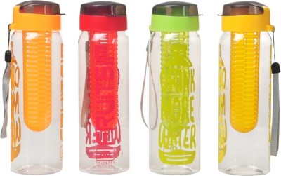 Imago Infuser Detox sport Fruit Sip Four Colour Bottle 700 ml Bottle(Pack of 4, Multicolor) at flipkart