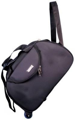 Inte Enterprises  Expandable  style Travel Duffel Bag Black