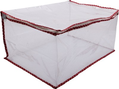 Angel Quilts Saree Cover Angqui 06 White Angel Quilts Garment Covers