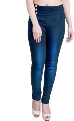 Western World Slim Women Blue Jeans at flipkart