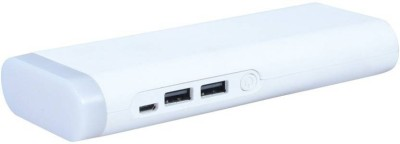 Lionix WHT15000MAH001 WHITE15000mah 15000 mAh Power Bank(White, Lithium-ion) at flipkart