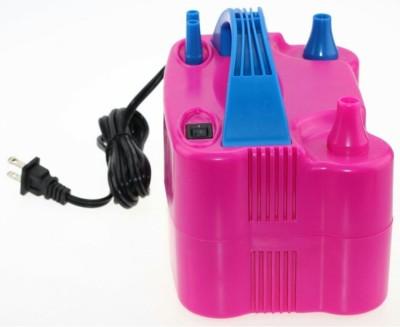 PartyballoonsHK Super High Power Portable Air Blower Electric (Blue, Pink) Balloon Pump(Blue, Pink) at flipkart