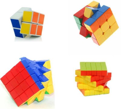 Mayatra's Magic Rubik Cube Puzzle Brainstorming Game [ Shengshou2x2 + 3x3+4x4 & 5x5 ] set of 4 (4 Pieces)(4 Pieces)  available at flipkart for Rs.1199