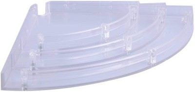 Blue Barrel BBAsian1 Acrylic Wall Shelf(Number of Shelves - 3, Clear) at flipkart