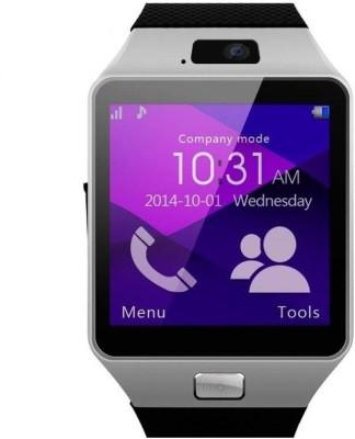 "2c35dbd86 Benison India â""¢ Bluetooth Wrist Mobile GSM SIM Card Camera Silver  Multicolor Smartwatch("