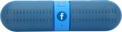 Jiyanshi Portable Bluetooth Speaker Portable Bluetooth Mobile/Tablet Speaker(Blue, 2.1 Channel)