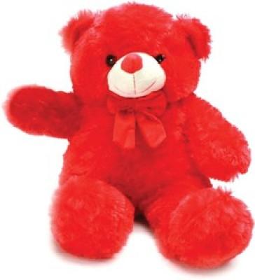 Ansh Soft Toy Red Bear Bride   70 cm Red Ansh Soft Toys