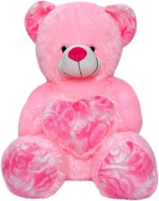 Gifteria Sweet Heart Pink Teddy Bear   50 cm Pink Gifteria Soft Toys