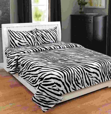 _80 Cotton Printed Double Bedsheet(Supreme Home Collective New 100% Cotton 90x90 Inches Double Bedsheet With 2 Pillow Covers, Multicolor)