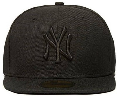 Paidu Solid, Embroidered NY, Yankees, Snapback, baseball, Basketball, Sports Hat, Combo Cap Cap(Pack of 2)