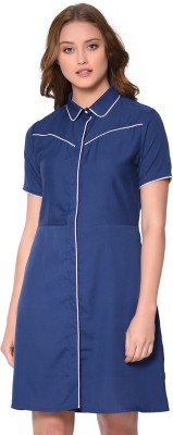 Raaika Women Shirt Blue Dress