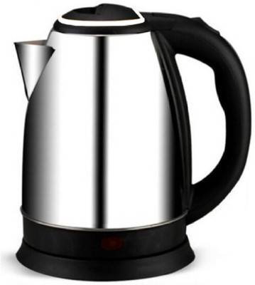 Wonder World ™ Durable Automatic Cut Off Jug Kettle Electric Kettle(1.8 L, Silver)