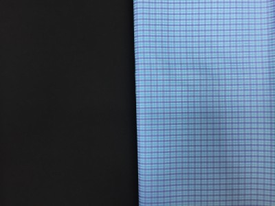snt fashions Cotton Checkered Shirt & Trouser Fabric(Un-stitched)