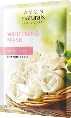Avon Naturals Whitening Mask White Rose, 20 ML