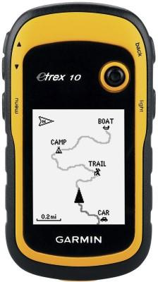 Garmin GPS Etrex 10 GPS Device(yellow/black)