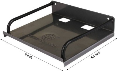 GoodsBazaar Iron Wall Shelf(Number of Shelves - 1, Black)  available at flipkart for Rs.173