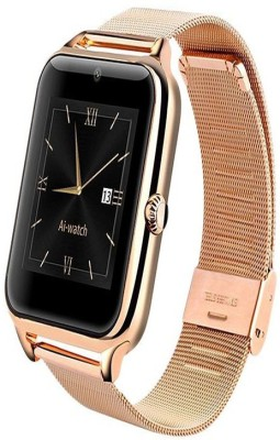 SYL Samsung Galaxy On7 Gold Smartwatch(Gold Strap Freesize) at flipkart