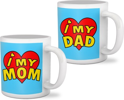 Tiedribbons Marriage Anniversary Gifts for Mom and Dad Mug Gift Set  available at flipkart for Rs.699