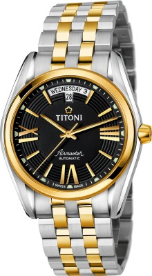 Titoni 93909 SY-343  Analog Watch For Men