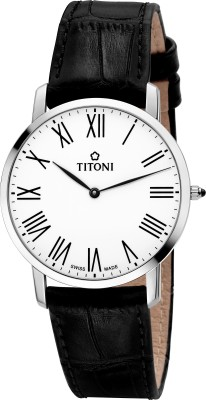Titoni TQ 52918 S-ST-584  Analog Watch For Men