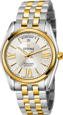 Titoni 93909 SY-342  Analog Watch For Men