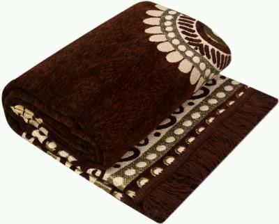 MAYUR7STAR Brown Velvet Carpet(150 cm  X 210 cm) at flipkart