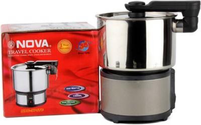 Nova NRC-974TC Travel Cooker(1.3 L, Silver)  available at flipkart for Rs.2994