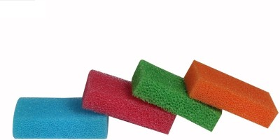 bajrang Magic Cleaning and Scouring Sponge Wipe Pads (04 pcs.) Home Cleaning Set  available at flipkart for Rs.130
