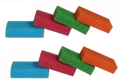 bajrang Magic Cleaning and Scouring Sponge Wipe Pads (08 pcs.) Home Cleaning Set  available at flipkart for Rs.190
