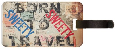 Exoctic Silver SWEETY LUGGAGE TAG ( BTT )001 Luggage Tag(Multicolor)