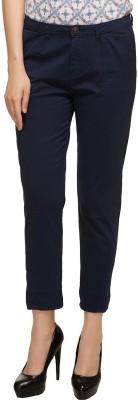Kotty Slim Fit Women Blue Trousers at flipkart