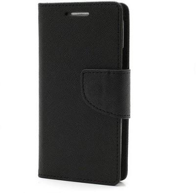 GadgetM Flip Cover for Samsung Galaxy J7   6  New 2016 Edition  Black