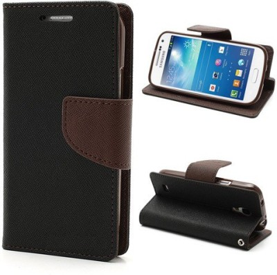 GadgetM Flip Cover for HTC Desire 620G(Brown, Artificial Leather)
