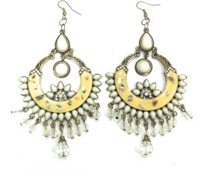 Get best deal for AMARA JEWELLERS INDOWESTERN EARRINGS Brass Drop Earring at Compare Hatke