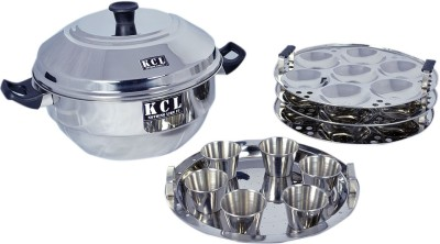 KCL Idly Pot Induction & Standard Idli Maker(3 Plates , 21 Idlis ) at flipkart