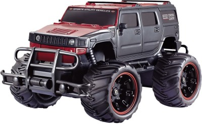 The Flyer's Bay The Flyer's Bay BIG and MEAN Rock Crawling Modified Hummer RC Car/Monster Truck (1:20 Scale)(Multicolor) at flipkart