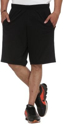 Van Heusen Solid Men Grey Bermuda Shorts
