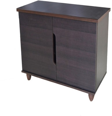 Eros Chest Engineered Wood Free Standing Chest of Drawers(Finish Color - Walnut Brown, Door Type- Frameless Sliding)